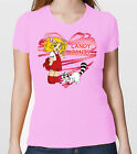 T-SHIRT CANDY CANDY CASA DI PONY E CLEAN  CARTOON ANNI 80 TSHIRT DONNA E BAMBINA
