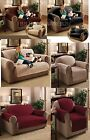 LUXURY QUILTED SOFA CHAIR PROTECTOR FURNITURE SLIP COVER THROW WATER RESISTANCE
