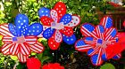 Patriotic Wind Spinner/Perfect Gifts/Yard/Garden/Lawn Decoration