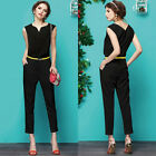 Womens Celebrity New Causal Slim Bodycon Bandage Pants Jumper Jumpsuit Playsuits