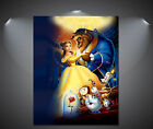 Beauty and the Beast Vintage Movie Poster - A1, A2, A3, A4 Sizes