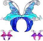 8x PRE-CUT 3D FAIRY WINGS #3 craft suncatcher cut out scrapbooking fairies