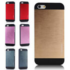 ULTRA THIN HARD BRUSHED ALUMINIUM METAL CASE FOR IPHONE 5/5S + SCREEN PROTECTOR