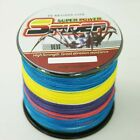 Superb Spider Braid 1000M 10LB~300LB 5Colors Braid Fishing line/Agepoch line