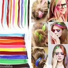Wholesale Fashion Colorful Highlight Hair Piece Clip in on Hair Extensions 20''