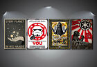Star Wars Recruitment Propaganda Poster Set - A4-A3-A2 Sized Sets of 4 £20.0 GBP