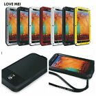 Waterproof Aluminum Gorilla Metal Cover Case for Samsung Galaxy Note 3 N9000