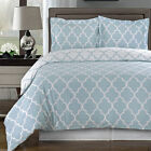 Meridian Light Blue Duvet Cover Set - 100% Egyptian Cotton
