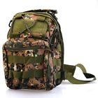 Tactical Military Molle Backpack Shoulder Hand Bag For Camping Hiking Travel