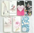 Various Designs Hard Back Cover Case Skin For Apple iPhone 5 5s SE