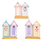 Fridge Magnet - Beach Huts, Colourful Designs by Ted Smith. Hand Painted. NEW