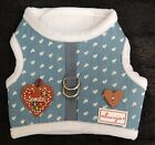 "♥ Hundegeschirr alvonja ""LOVELY Sweet Heart"" mit Motiv Softgeschirr XS - M ♥"