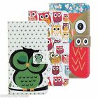 W AU Premium Owl Flip Leather Case Cover for Samsung Galaxy S5