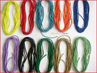 5 METRES ROUND ELASTIC CORD STRETCH /2.2 mm & 3 mm/CHOICE COLOUR/FREE P&P