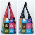 New Genuine Himalayan Bag Hippy Festival Peace Symbol Ethically Made In Nepal