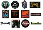 FLOGGING MOLLY ghost MEGADETH motley crue HAMMERFALL - SEW-ON PATCH logo patches