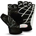 Men Cycling Gloves Cycle Half Finger Fingerless Bicycle Sports Silicone Printing