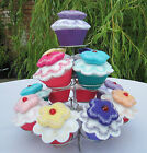 Handcrafted Embroidered Cupcake Pin Cushion