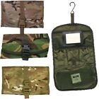 MILITARY WASH BAG UNBREAKABLE MIRROR WATERPROOF MTP POUCH MULTICAM BRITISH ARMY