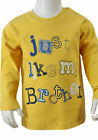 Baby Boys 'Just Like My Brother' Top - Ages Newborn , 0/3 mths,  9/12 mths