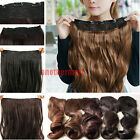 Long Straight/Curly/Wavy Hair Extension Clip in Hair Extensions lady preference