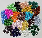 10 x 1H 14MM A-GRADE CRYSTAL OCTAGON suncatcher assorted colours craft supplies