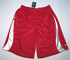 Nwt New Nike Basketball Shorts Subtle Red on Red Shimmer Design Nice Wow Men