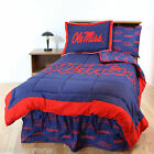 Mississippi Rebels Comforter Shams Bedskirt Sheets Twin Full Queen Ole' Miss