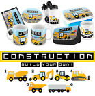 PERSONALISED Construction Gifts - Lunchbox iPad case Pencil Case Water Bottle