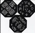 New Nail Art Image Stamp Stamping Plates Manicure Template QA61,69,77 Series