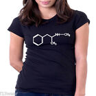 METH CHEMICAL SYMBOLS  BREAKING BAD LADY FIT T SHIRT   BIG BANG  METHAMPHETAMINE