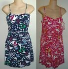 Womens AEROPOSTALE Floral Printed Knit Tank Dress NWT #8584