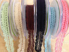 CROCHET RIBBON May Arts/ Creative Expressions POSTAGE DISCOUNTS AVAILABLE