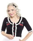 Cherry Bella Lace Cardigan Rockabilly Pinup Kitsch Kawaii