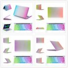 """4Style Rainbow Rubberized Case+Keyboard Cover for Macbook Air&Pro 11/13/15"""" inch"""