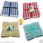 HIGH QUALITY SUPER ABSORBANT 100% COTTON TERRY TEA TOWELS -PACK OF 3 CLOTHS