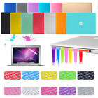"2014 Rubberized Hard Case+KB Cover+Screen Skin+Plug For Macbook Air 13"" A1466"