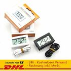 Thermometer  Digitalthermometer Temperaturmesser LCD -50° bis +110° 1m 2m 3m