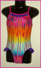 GIRLS TOGS Sz 4 5 6  - Stunning 1pc SWIMWEAR BATHERS - Multicolour  COSSIE - NEW