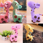 Cute Gift Plush Giraffe Soft Toy Animal Dear Doll Baby Kid Child Birthday Favor