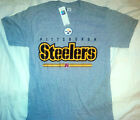 PITTSBURGH STEELERS NFL GRAY T SHIRT