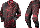 MSR Axxis RED Pant & Jersey Combo YOUTH KIDS Motocross/MX/ATV/Off-Road Gear