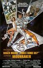 MOONRAKER Movie Poster James Bond 007 Roger Moore $8.89 USD