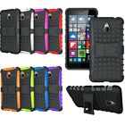 Heavy Duty Rugged Hybrid Phone Case With Back Stand For Microsoft Nokia Lumia