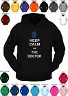 DR WHO **KEEP CALM I'M THE DOCTOR ** Dr. Who logo -  custom printed hoody