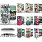 For Htc One M8 New Fashion Painted Design Tpu Soft Case Skin Silicone Back Cover