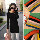 New Women Jumper Casual Tops Pullover Slim Dress Long Sleeve Knitted Sweater