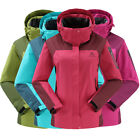 NEW Women Lady Good Waterproof Breathable Jacket Ski Outdoor Hiking Jacket
