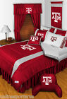 Texas A&M Aggies Comforter Sham Bedskirt Curtain Valance Set Twin to King