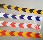 """Arrow Reflective Caution Warning Tape Sticker for Road Street Stair 2"""" Width"""